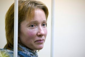 Yekaterina Zaspa has become the first of the Arctic 30 to be released on bail, suggesting other auxiliary staff may also be released. Photo / AP