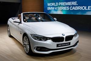 BMW 4 Series Cabriolet. Photo / AP