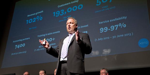 Xero chief executive and founder Rod Drury. Photo / Mark Mitchell
