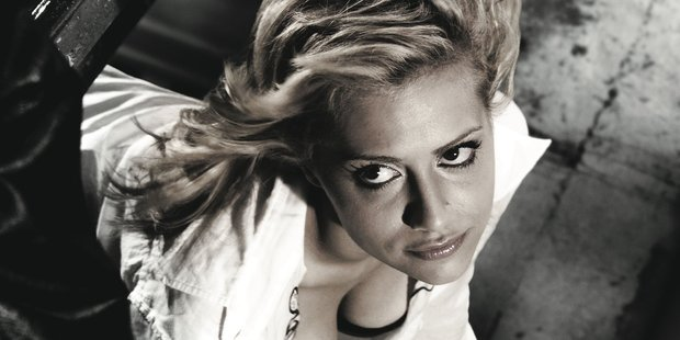 Brittany Murphy in a scene from Sin City.