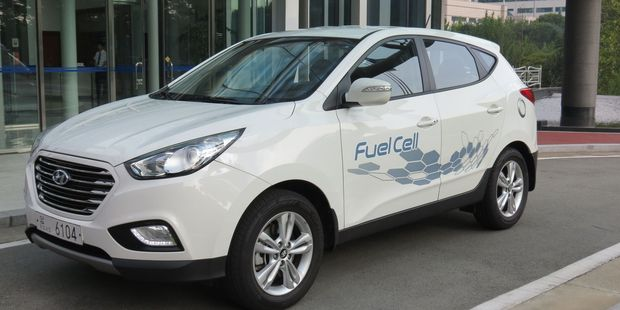 Hyundai's ix35 hydrogen fuel cell vehicle, known as the Tucson in the US, will go into production.