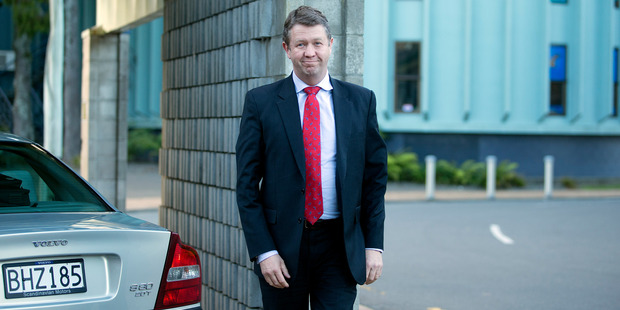 David Cunliffe promised a Labour Government would pay the court-ordered compensation. Photo / Peter White