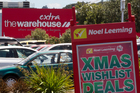 The Warehouse Group purchased the Noel Leeming chain of 92 electronics and appliances stores for $65m a year ago. Photo/Brett Phibbs