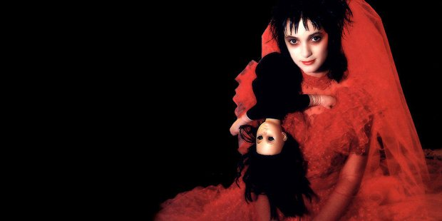 Winona Ryder as Lydia in Beetlejuice.