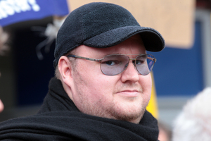 Kim Dotcom. Photo / Doug Sherring