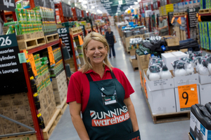 Jacqui Coombes, the chief executive of hardware retailer Bunnings NZ.  Photo/ Paul Estcourt