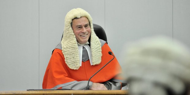Retired High Court Judge Hon Lester Chisholm is the chairman of the Board of Inquiry which has begun a hearing into the Ruataniwha water storage project.