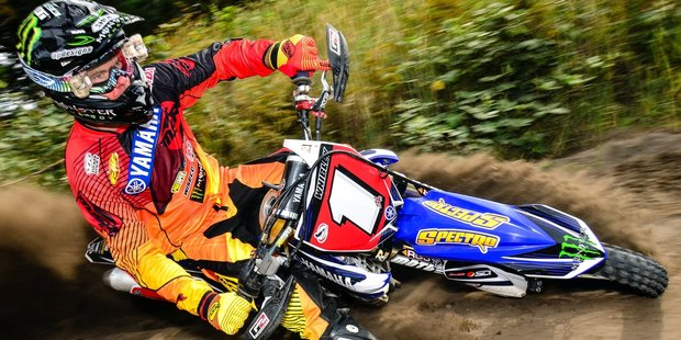 Pahiatua's Paul Whibley (Yamaha) is back home and putting something back into the sport he loves after a gruelling season in the United States.Picture / Andy McGechan, BikesportNZ.com