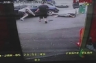 A hit and run that occurred in Hamilton at noon today has been caught on CCTV. Viewer discretion is advised, as the scenes in this video may disturb some people.