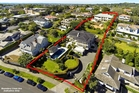 The adjoining sites - totalling 3,550sqm of prime Remuera land - are expected to sell for more than the $11.7m paid for them.