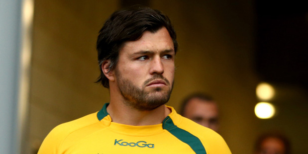 Adam Ashley-Cooper is among five players axed from this weekend's Scotland Test after staying out late and drinking in Dublin. Photo / Getty Images