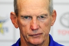 Wayne Bennett was the brains behind the Kiwis' stunning upset victory over the Kangaroos in 2008.