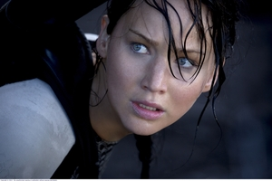 Jennifer Lawrence as revolutionary and fearless leader Katniss Everdeen.