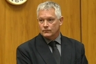 Gordon Meyer in court yesterday. Photo / One News