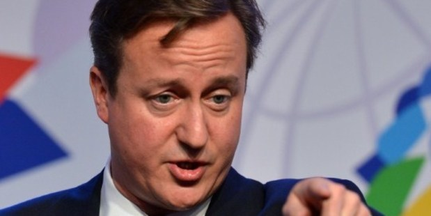British Prime Minister David Cameron. Photo / AFP
