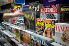 A clutch of magazines, including the Listener, are moving from APN to new owner Bauer Media. Photo / Sarah Ivey