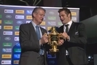 After witnessing Richie McCaw hand back the Webb Ellis Cup, Patrick McKendry and Gregor Paul wonder if the All Blacks will be able to win it back in the 2015 Rugby World Cup.