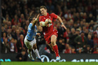 Wales flattered in the first half to lead 23-3 against Argentina. Photo / Getty Images