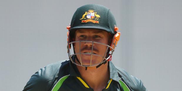 Batsman David Warner. Photo / Getty Images