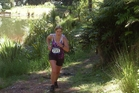 Vicki Hunter was part of the 560 strong field that took on the Tauranga Trail Run. Photo/Supplied.