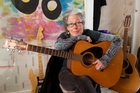 Francisca Griffin is still playing guitar, and two gigs a year. Photo / Mark Mitchell