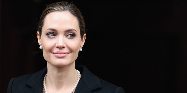 Angelina Jolie will reportedly gift Brad Pitt a $20m heart-shaped island for his birthday. Photo / Getty