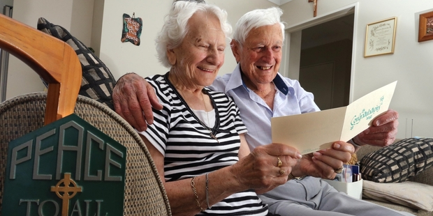 Jack and Vera Katavich will be presented with papal medals on Sunday. Photo/John Stone.