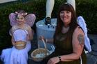 Fairy Queen Sue Aicken and her fairy helper Samantha Bradley, aged eight. PHOTO/ RANGITIKEI DISTRICT MONITOR