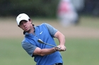 Northern Ireland's Rory McIlroy thinks he is in a great position going into the weekend. Photo / AP