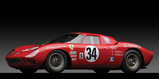 Ferrari 250 LM at Auction. Pictures / RM Auctions/Michael Furman