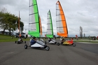 Papamoa's Blokart Recreation Park serves as a base for Blokart enthusiasts.