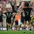 Issac Luke of New Zealand celebrates victory during the Rugby League World Cup Semi Final match between New Zealand and England. Photo / Getty Images