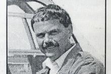 Eagele pilot Ross Harvey.