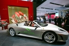 This Ferrari Spider can run on a blend of 85 per cent ethanol. PHOTO/SUPPLIED