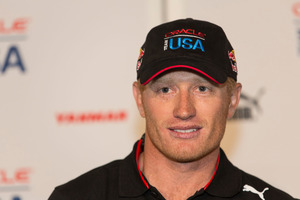 Oracle skipper Jimmy Spithill. Photo / GILLES MARTIN-RAGET