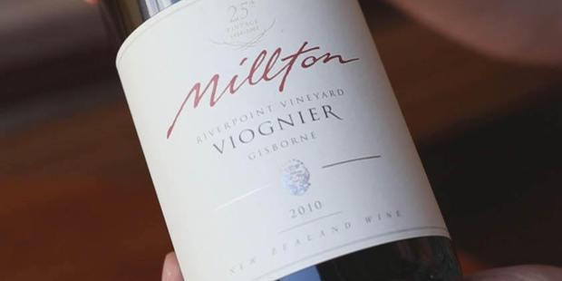 Millton Viognier 2010.