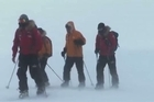 Britain's Prince Harry said on Monday he was honoured to be able to take part in a charity trek to the South Pole alongside wounded servicemen and women. The group is expected to reach the pole by mid-December.