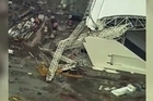 Part of the stadium that will host the 2014 World Cup opener in Brazil collapsed causing significant damage and killing three people.
