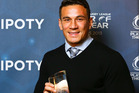 Dual international Sonny Bill Williams received an impromptu haka performance from his New Zealand teammates after being crowned the world's best rugby league player. Photo / RLIF
