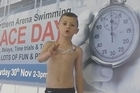 Sonny Bill Williams has been challenged to a swimming race by an unlikely contender - a child from Auckland.