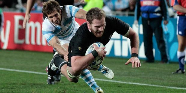 The All Blacks open their 2015 Rugby World Cup campaign against Argentina. Photo / Getty Images