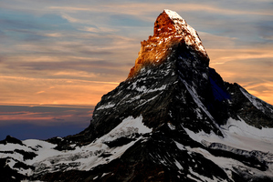 The Matterhorn says Switzerland like nothing else. Photo / Getty Images