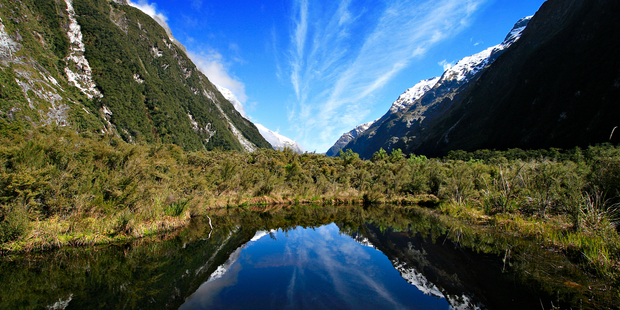 The great sights of the Milford Track are renowned among hikers. Photo / Venetia Sherson