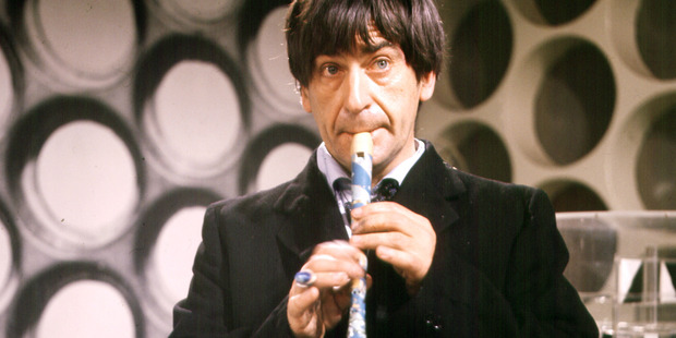 Patrick Troughton as The Doctor in 'Dr Who'.
