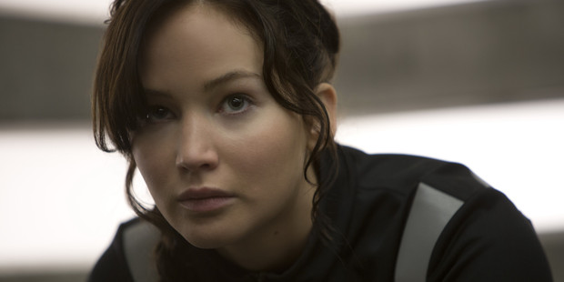 Jennifer Lawrence as Katniss Everdeen in 'The Hunger Games: Catching Fire'.