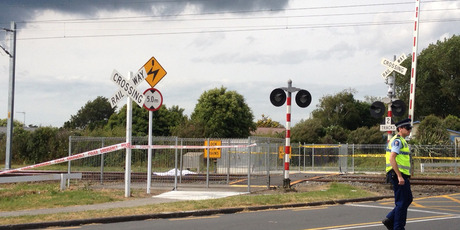 A 12-year-old girl died after being struck by a train in the Auckland suburb of Takanini. Photo / Brett Phibbs