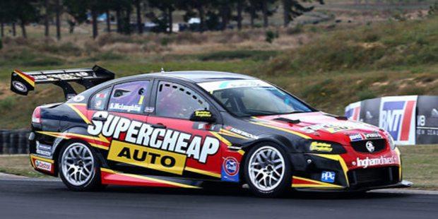 Scott McLaughlin in the Supercheap Auto Holden Commodore