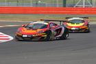 Chris van Drift racing his McLaren Mp4 GT car. Photo / Supplied