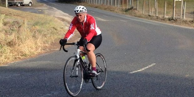 Rotorua cyclist Carol Harwood, seen here at an event this year, is in an induced coma.