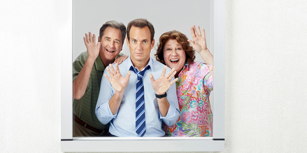 Nathan Miller (Will Arnett, centre) suddenly finds his mother back in his life and home.